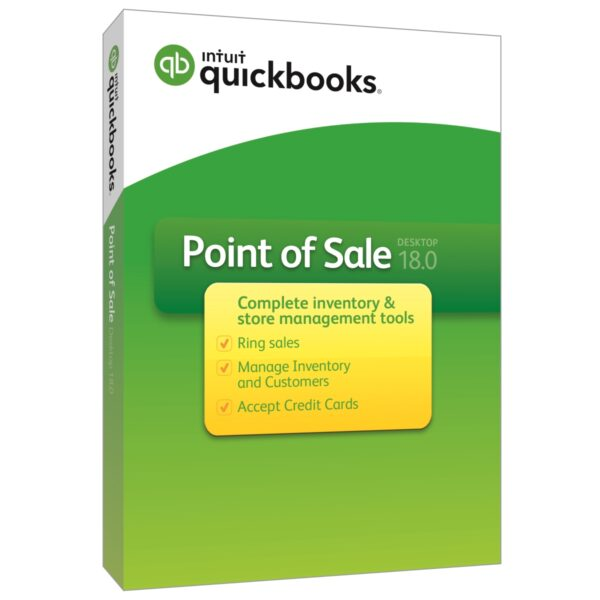 QuickBooks Point of Sale v18.0 (Multi Store) - 2 Users